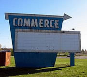 commerce sign